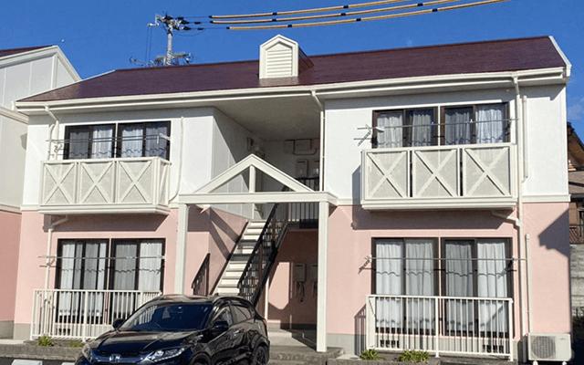 姫路市Mハイツ 外壁屋根塗装工事