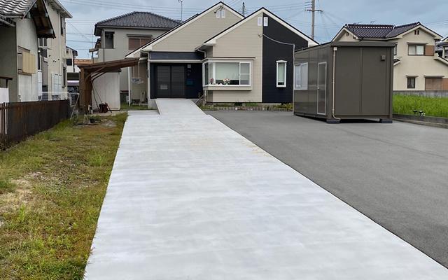 姫路市A様邸 駐車場マットスプレー工事