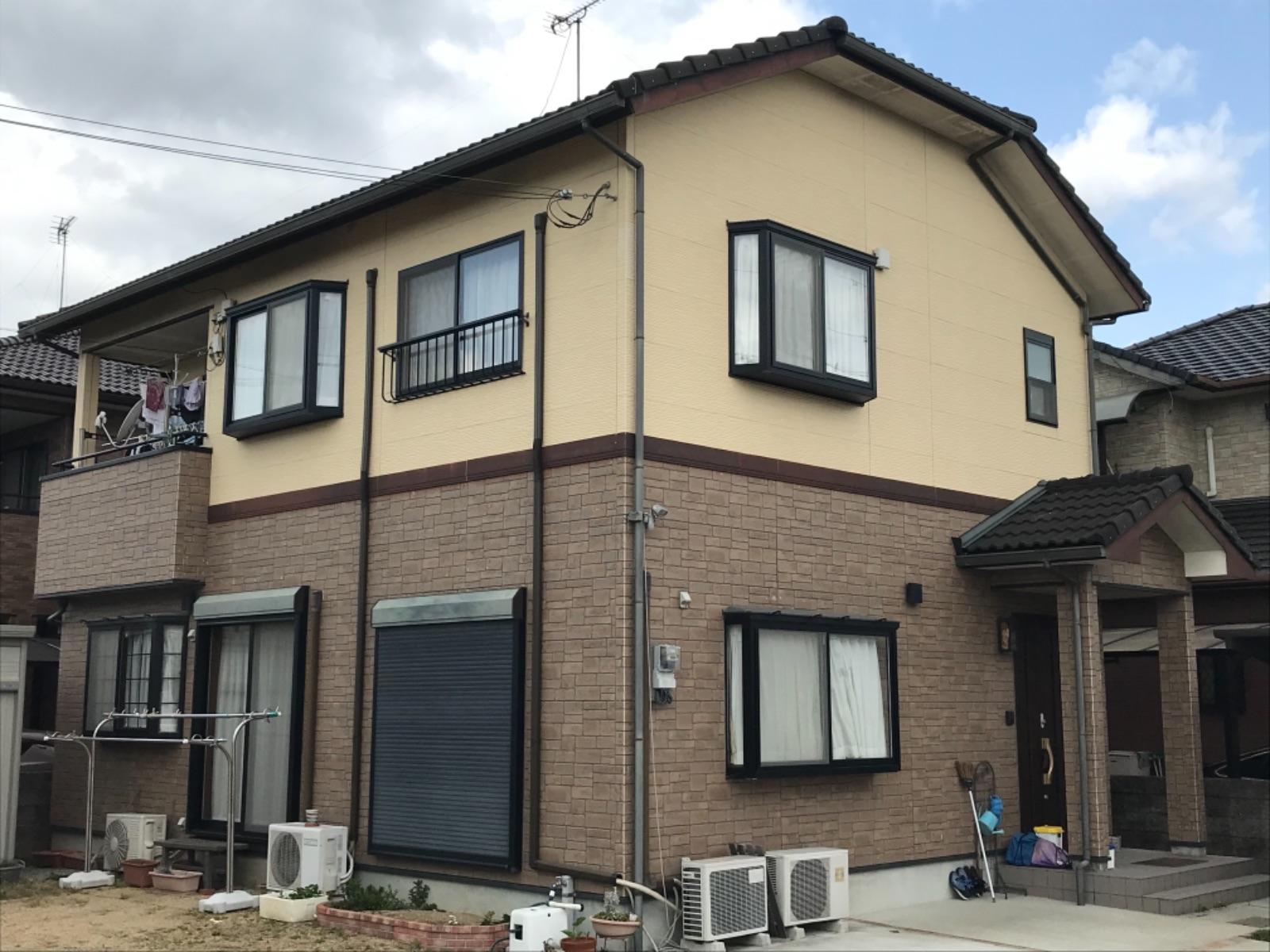 姫路市K様邸 外壁・屋根塗装工事