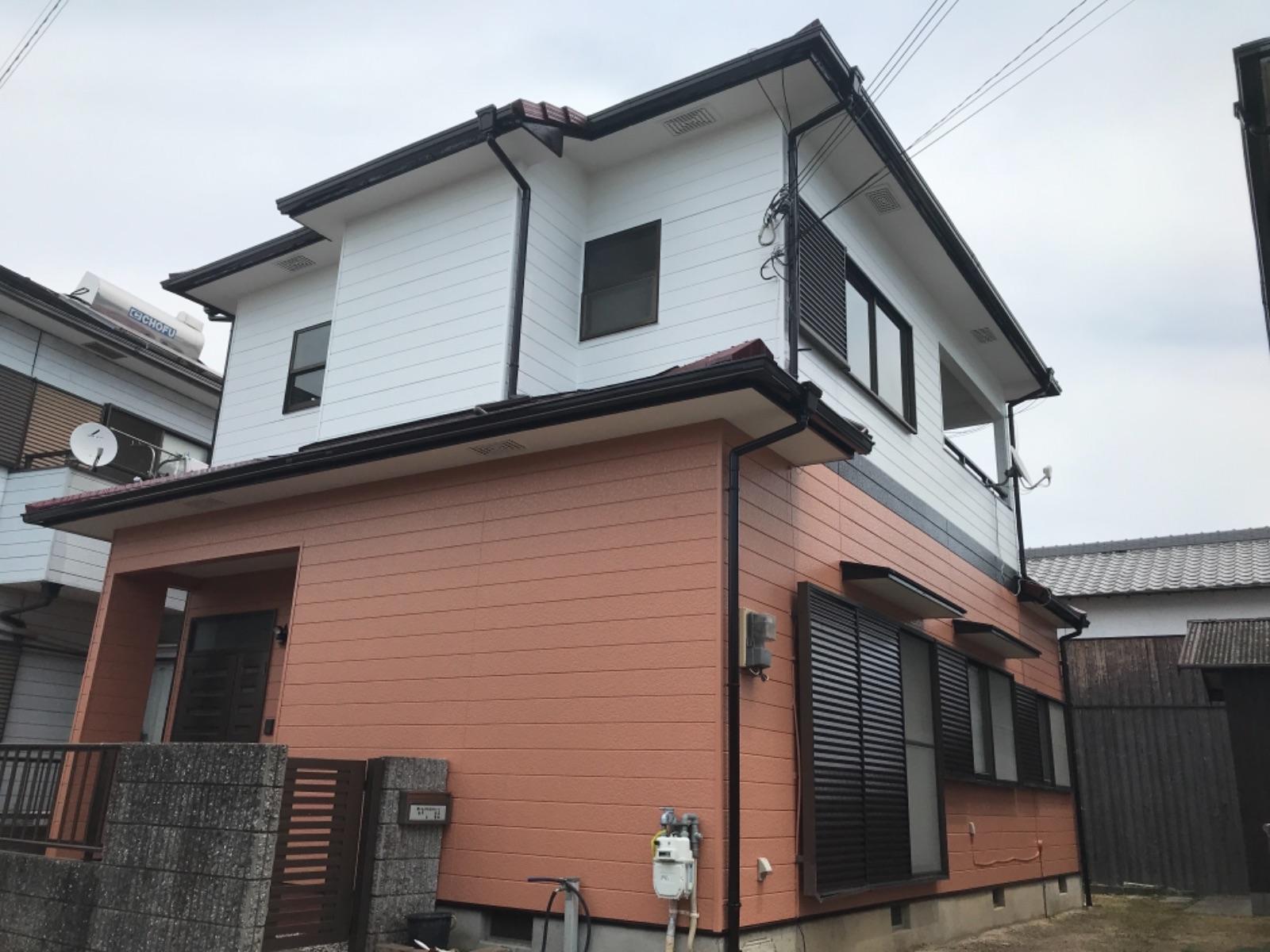 姫路市M様邸 屋根・外壁塗装工事