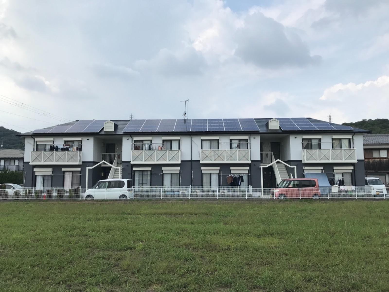 姫路市N様邸ハイツ 屋根・外壁塗装工事