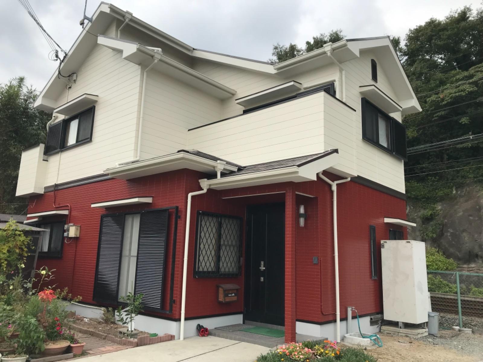 姫路市N様邸 屋根・外壁塗装工事